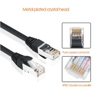 cabo ethernet do gato venda por atacado-Cabo Ethernet RJ45 Cat5 Cabo Lan UTP RJ 45 Cabo de Rede para Switcher router TV Cat6 Compatível Patch Cord Ethernet