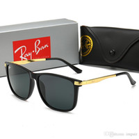 Wholesale ray band sun glasses for sale - Group buy New Hot Aviator Ray Glass Lens Sunglasses Vintage Pilot Brand Sun Glasses Band Polarized UV400 Bans Men Women Ben wayfarer sunglasses