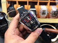 kam mp toptan satış-Erkek Saat Mekanik Patlama MP-05 Serisi Erkek Otomatik Makina Japonya Çekirdek Saat 45mm Akrilik Kabuk Safir Cam.