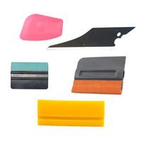 Carbins 5pcs Carbon Fiber Foil Film Car Window Tint Tools Kit Squeegee Vinyl Car Wrap Auto Wrapping Accessories Ice Scraper