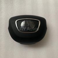 ingrosso driver audi-Coprisedili Airbag per Audi A6 A7 A8 Copri Airbag del Volano SRS Spedizione gratuita (emblema / logo incluso)