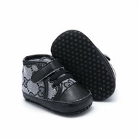 Wholesale sneakers for kids resale online - Fashion PU leather Baby Moccasins Newborn Baby Shoes For Kids Sneakers Toddler infant Crib Shoes Boy Girl First Walkers