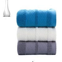 Wholesale hotel towels for sale - Group buy Factory direct cotton wash face towel towel gift printing embroidered word custom hotel cotton thick high grade towel