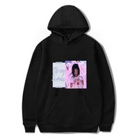 roupas de hip hop venda por atacado-XXS-4XL Strong Femal Rihanna Hoodie manga comprida Dentro de lã Casual Outfits Pullover Hoodies Hip Hop Sweatershirts Jacket Top