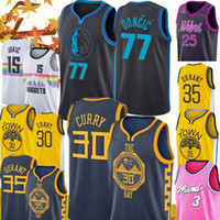Wholesale quick state for sale - New Dallas Luka Doncic Mavericks Jersey Stephen Curry Kevin Durant Golden State Warriors Jerseys Mens Nikola Jokic