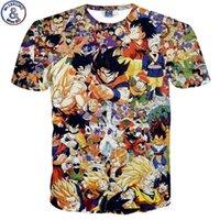 top listesi toptan satış-J190529Mr.1991 Yeni Liste Karikatür Dragon Ball 3d Baskılı çocuğun T-shirt 7-20 Yıl Genç Büyük Çocuklar çocuk Tshirt Na9 J190529