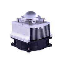 Wholesale led lens reflectors for sale - Group buy Aluminium Heat Sink Cooling Fan W LED radiator degree mm Lens Reflector Bracket DC12V A led Driver