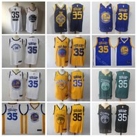 Wholesale fans green for sale - Group buy Man Basketball Kevin Durant Jersey All Star City Earned Edition For Sport Fans Black White Yellow Navy Blue Green