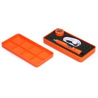 typen bits großhandel-Mini Genauigkeit Elektroschrauber Kit Set Stift Typ Akku-Schraubendreher mit 6 Stück Bits Reparatur einstellbares Drehmoment Elektrowerkzeuge