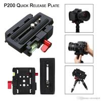 выведение манфротто оптовых-Quick Release QR-пластина Зажим адаптера Базовая станция для цифровой камеры Manfrotto 501 500AH