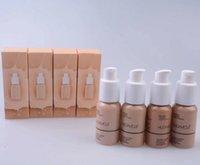 base de maquillaje bombas al por mayor-Nueva profesión de marca 30ML Maquillaje Conclear Liquid Foundation Fond de teint Con base de bomba Studio Fix Flouid Foundation 4 color