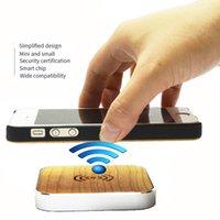 qi зарядное устройство оптовых-10 Вт 7.5 Вт Ци Беспроводное зарядное устройство Wood Fast Зарядка Pad для iPhone XS Max XR X 8 Plus для Samsung S10 S9 Huawei Mate 20Pro Универсальный