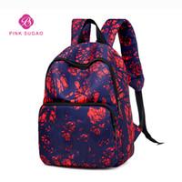 Wholesale coins backpack style for sale - Group buy Pink sugao designer backpack sport men and women school backpack new style ADprint letter book bag school shoulder bag purse