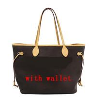 carteira rosa de luxo venda por atacado-Rosa dentro Famosas mulheres bolsas L flor designer de luxo sacos compostos senhora embreagem ombro tote bolsa feminina com grande carteira 40156