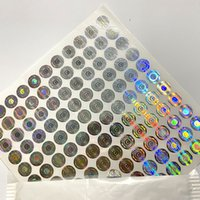 Wholesale mylar paper resale online - 3D hologram stickers label for newest cookies sf th california bags packaging mylar bags D Hologram Sticker