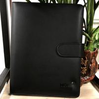 deri defteri defteri toptan satış-Klasik Almanya Dizüstü Iş Tedarik Gelişmiş Deri Kapak Gündem El Yapımı T-notebook Periyodik Logo Günlüğü Ofis Not Defteri