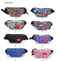 Wholesale men fanny packs for sale - Group buy Pink sugao waist bag print Spletter sport men and women travel bag fanny pack belt chest bag running phone purse sport outdoor high quality