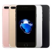 telemóveis 4g lte venda por atacado-Original 4.7 polegadas 5.5 polegada apple iphone 7 plus ios 4g lte 12mp com touch id desbloqueado recondicionado celular telefones celulares