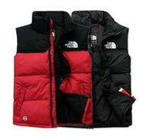 spor ceket yelek toptan satış-Ücretsiz teslimat erkekler AŞAĞı kış aşağı ceket kuzey Polartec yelek Erkek Spor Kapşonlu Ceket Fermuarlar Ile Bombacı Yaka Açık yüz palto