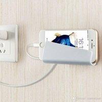aufladung telefonständer großhandel-Smart Phone Tablet Hanging Stand Ladehalter Wandhalterung Rack Regal