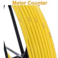 cámaras de video alcantarillado al por mayor-SYANSPAN Cable 20 50 100M Cámara de video de inspección de tuberías, drenaje de tuberías de alcantarillado Sistemas de endoscopios industriales