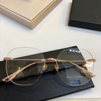 d1c8fd7d04f Wholesale clear plastic eyeglass cases for sale - 2019NEW D06 Concise  lightweight glasses gold pure titanium