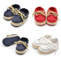 Wholesale d baby resale online - Baby Shoes Unisex Baby Shoes First Walkers Infant Kid Boy Girl Soft Sole Sneaker Toddler D