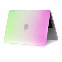fundas para laptop macbook pro al por mayor-Arco iris caja del ordenador portátil para Apple MacBook Pro 15.4 Nuevos (A1707 / A1990) cubierta a prueba de golpes cero contra Casos para el macbook A1707 / A1990