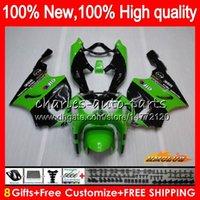 Wholesale kawasaki zx7r fairing black green for sale - Group buy Body For KAWASAKI ZX R ZX750 ZX R green black HC ZX ZX R ZX ZX7R Fairing