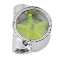 Wholesale water flow meters resale online - 2 Way Computer Water Cooling Flow Indicator Meter G1 inch Standard Threaded