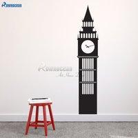 calcomanía de londres al por mayor-Torre de Ben grande - Viajes Señales London Wall Decal gran tamaño de encargo del arte del vinilo etiquetas decoradas