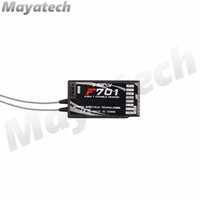 rc télécommande récepteur achat en gros de-Récepteur JR Spektrum ppm 2,4 GHz 7CH DSMX DSM2 Spread F701 pour le système de télécommande JR Spektrum