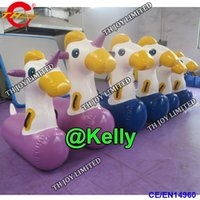 Wholesale game horse resale online - Commercial Interactive Game funny deby horse racing for sale inflatable jumping horse race carnival sport game toys