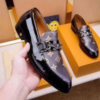 Wholesale high heeled oxford shoes resale online - High quality Luxury mens designer dress shoes ssLou1sVu1tton leather designer platform trainer party sneakers men shoes
