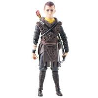 kratos gott kriegsfigur großhandel-14cm Neca God of War Kratos Sohn Atreus Action Figure Spielzeug Puppe Modell Geschenk