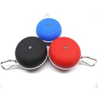alto-falante bluetooth esporte y3 venda por atacado-Y3 subwoofer bluetooth placa de som speaker mini alto-falante ao ar livre handsfree esportes gancho tf cartão / fm 5 cores dhl livre