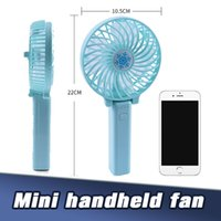 Wholesale small fans for sale - Group buy Portable Rechargeable Fan USB Charging Cool Removable Rotating Handheld Mini Outdoor Fans Pocket Folding Small Fan