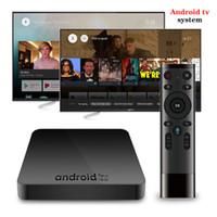 телешоу google оптовых-2019 Горячий AX7 Google Voice Control TV Box AndroidTV 7.1 Система 2 ГБ 16 ГБ Amlogic S905W Smart IPTV Media Player P MXQ PRO X96 MINI