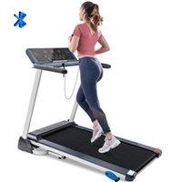manuelle tretmühle groihandel-2020 Folding Treadmill elektrisch motorisierter laufende Maschine mit Bluetooth und Incline991e #