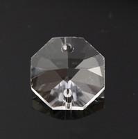 ingrosso luce di pendente del diy diy-K9 cristallo ottagonale perline tenda pendente ciondolo illuminazione ciondolo decorazione della casa fai da te