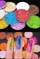 Wholesale dark blue eyeshadow for sale - Group buy Cosmetic Glitter eyeshadow mm Pressed Glitters Single Eyeshadow Diamond Rainbow Make Up Cosmetic Pressed Glitters Eye shadow