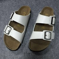 Wholesale Unisex Clogs for Men and Women PU Leather Clogs Summer Slides for Beach Casual Footwear Honeymoon Husband And Wife Matching Shoes Berks Clog