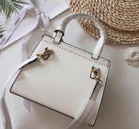 mochilas blancas al por mayor-Mochila de bolso de alta calidad de alta calidad con 2GB de señora blanca de tres piezas bossbag, bolso, monedero ** 76