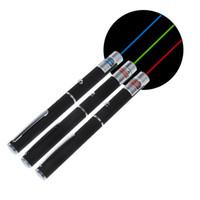 x lumière laser achat en gros de-5mW Lazer 650nm puissant rouge pourpre vert stylo pointeur laser faisceau de lumière visible match de combustion réglable avec 2 piles AAA