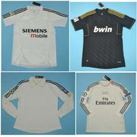 Wholesale ronaldo real madrid jersey resale online - Top Real Madrid Retro jerseys Soccer jersey ZIDANE BECKHAM RONALDO camisetas shirt