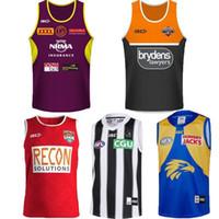 camisolas venda por atacado-2019 Cowboys Wests Tigres Brisbane Broncos Maroons Nova Zelândia rúgbi Jerseys Camisola Singlet NRL Nacional League colete camisa jersey Singlet