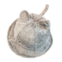 Wholesale cat basin for sale - Group buy Women solid warm Vintage comfortable cute new Fashion Cute Autumn And Winter Plush Cartoon Cat Basin Cap Fisherman Hat H