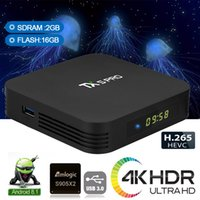Wholesale quad core cpu android tv resale online - TX5 Pro Android TV Box GB GB Amlogic S905X2 Quad Core CPU BT V4 VS Mxq Pro