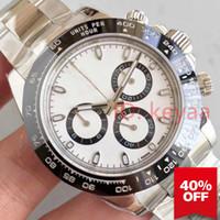 relojes de pulsera de moda al por mayor-Cerámica Negro Top Hombres Diseñador Mecánico Hombres Lujo 2813 Movimiento automático Reloj para hombre Deporte Moda Relojes automáticos Relojes de pulsera keyaa