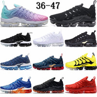 Wholesale 47 sneakers 13 resale online - Have Size TN Plus Running Shoes Black Triple White Gym Red Volt Work Blue Mens Trainers Gradient Pink Tie Dye Womens Sports Sneaker